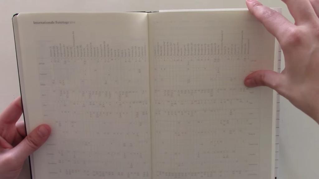 Leuchtturm 1917 Weekly Planner Vertical 1 32 screenshot
