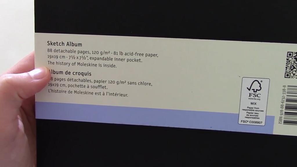 Moleskine Sketch Album Review 0 32 screenshot