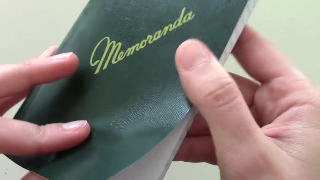 Military Memorandum Notebook 2 38 screenshot