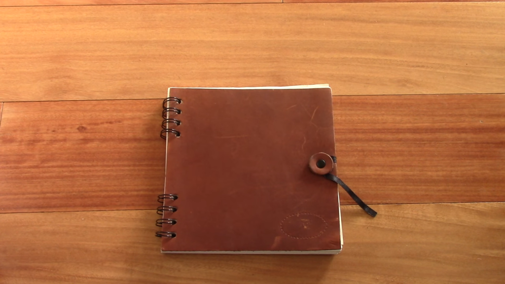 Leather Notebook 0 6 screenshot