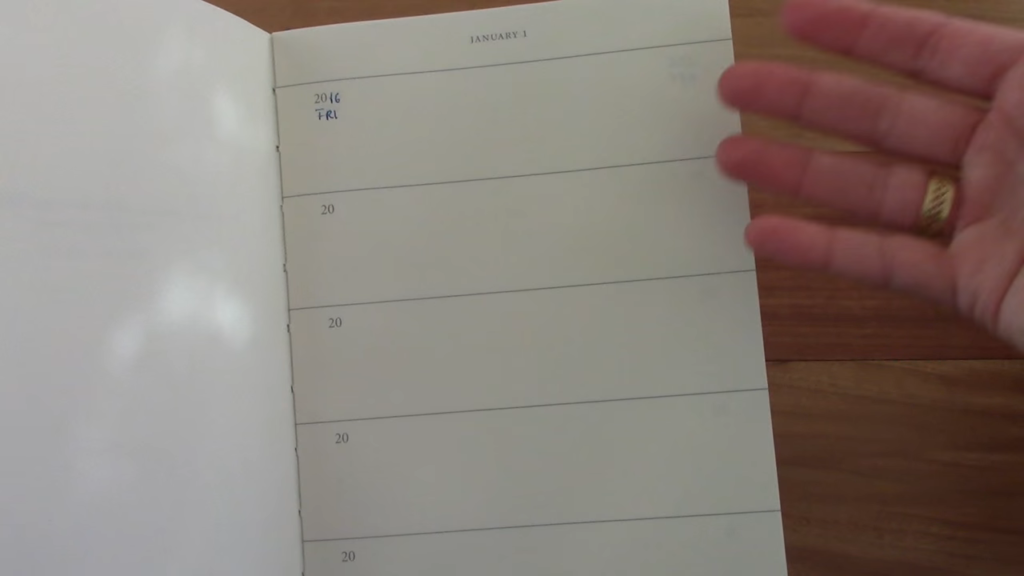 Leuchtturm 1917 Some Lines A Day The 5 Year Memory Book 1 36 screenshot