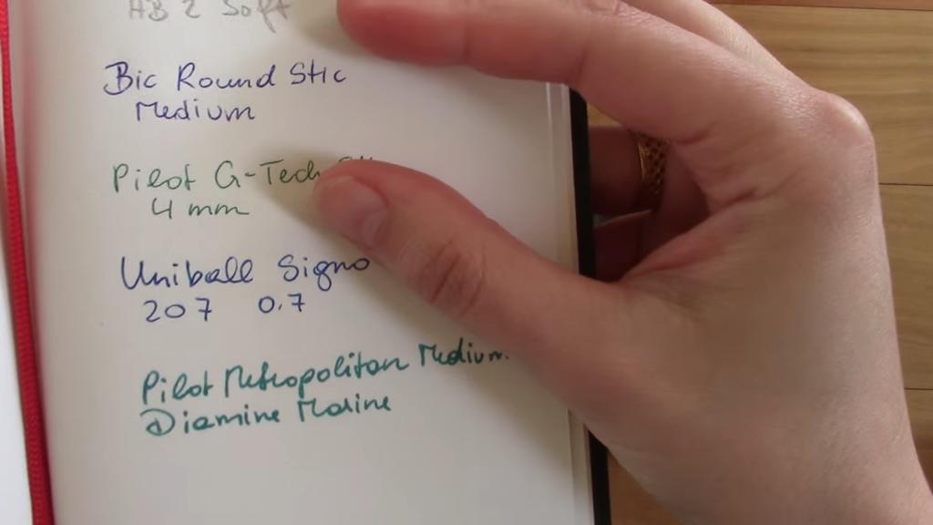 Moleskine vs X17 Notes Notebook Comparison 2 55 screenshot