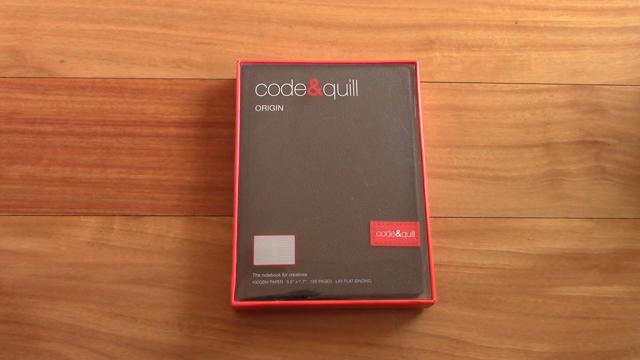 Code Quill Origin Notebook Review 0 0 screenshot