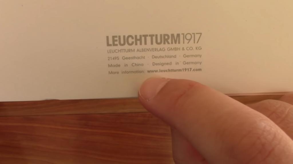 Leuchtturm 1917 Softcover Notebook Review 5 56 screenshot