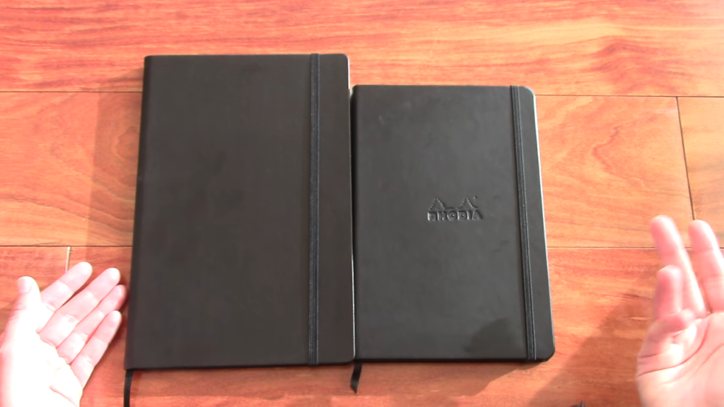 Rhodia Webnotebook vs Quo Vadis Habana Notebook Comparison 0 30 screenshot