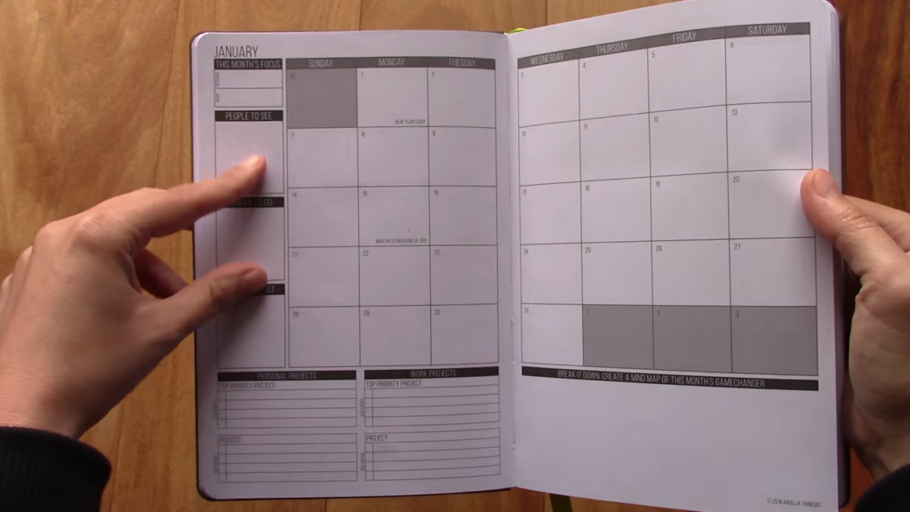 Passion Planner Review 3 13 screenshot