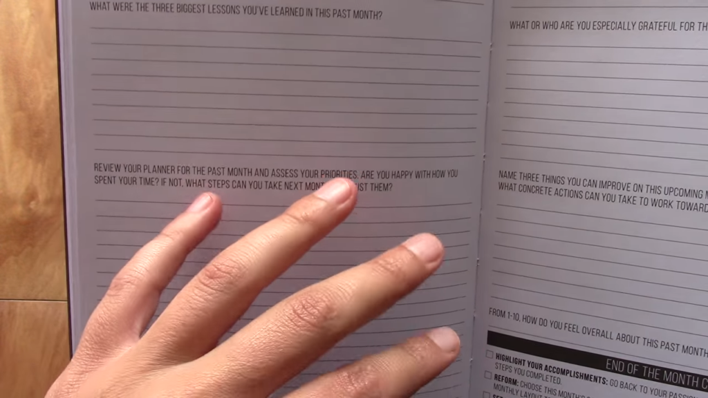 Passion Planner Review 5 30 screenshot