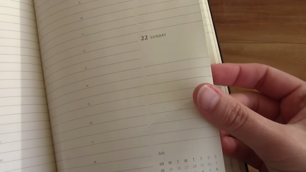 Moleskine Pro Planner Review 2 33 screenshot