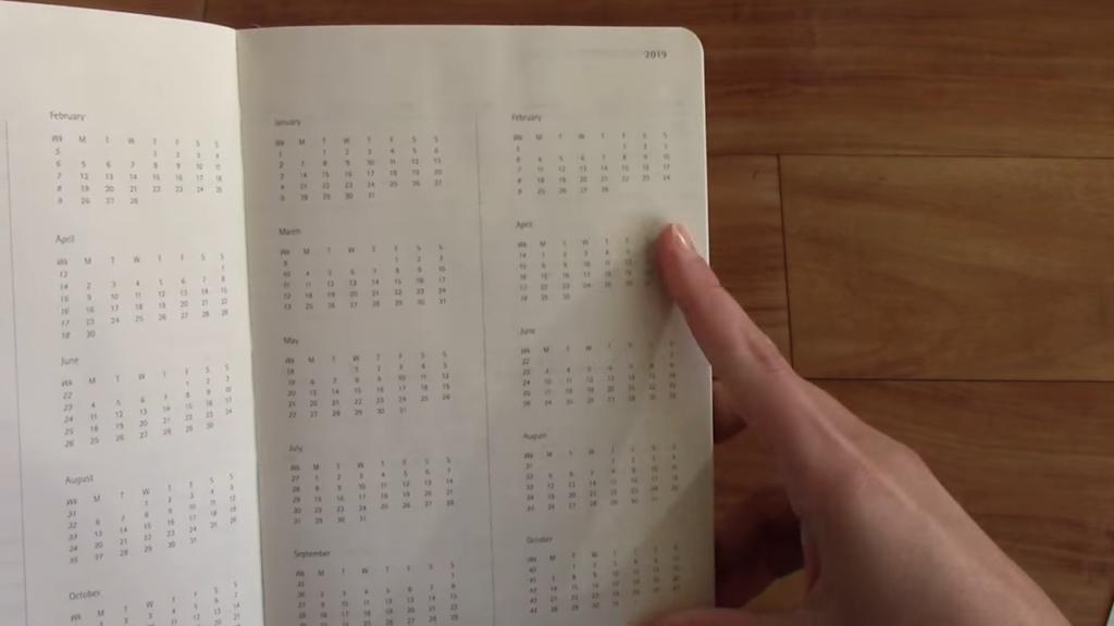 Moleskine Pro Planner Review 3 8 screenshot