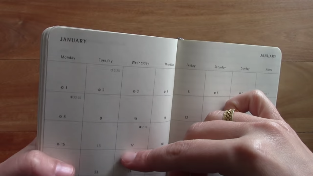 Moleskine Pocket Monthly Planner 4 37 screenshot