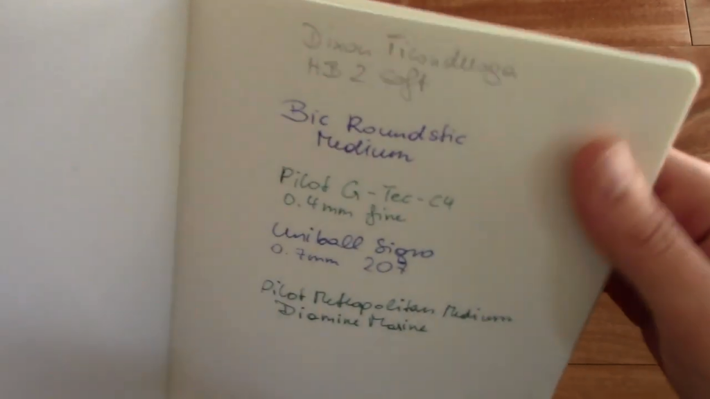 Leuchtturm 1917 B6 Notebook Review 4 21 screenshot