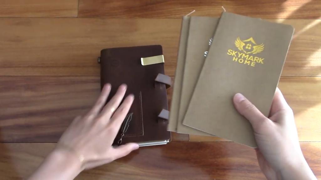 Skymark Home Travelers Notebook Review 5 9 screenshot