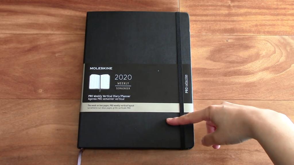 Moleskine Pro Planner XL Review 2 31 screenshot