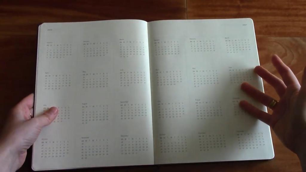 Moleskine Pro Planner XL Review 3 20 screenshot