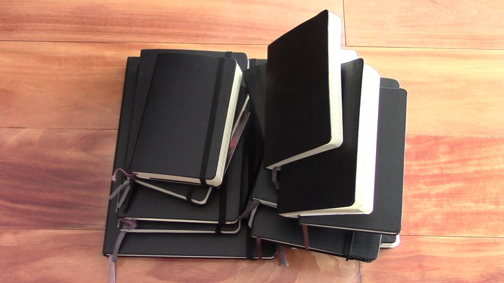 Almost 20 YEARS of Moleskine Notebooks 0 1 screenshot 1