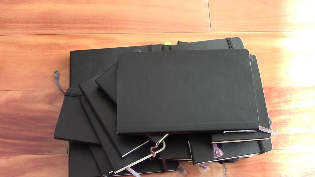 Almost 20 YEARS of Moleskine Notebooks 10 18 screenshot