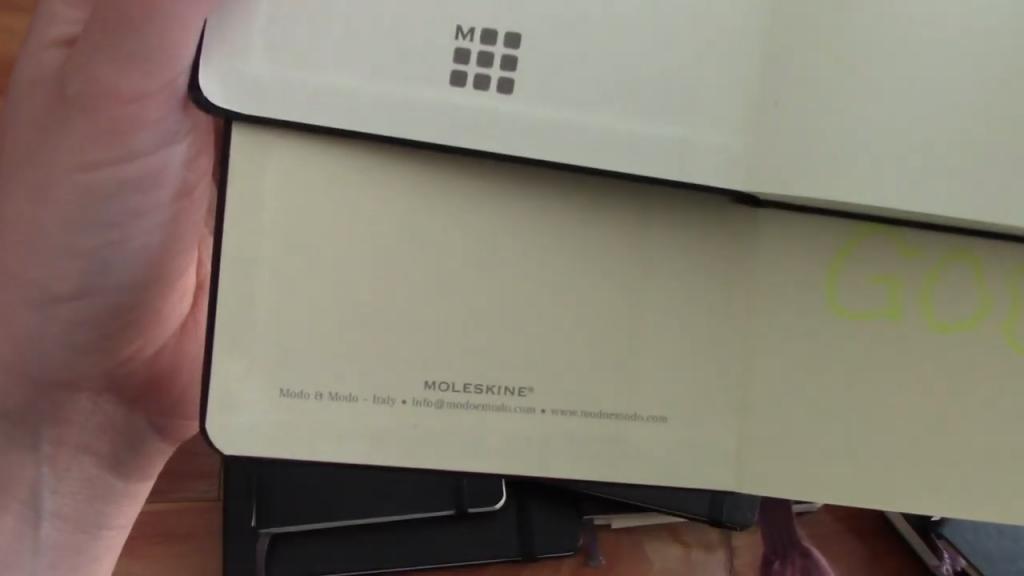 Almost 20 YEARS of Moleskine Notebooks 9 3 screenshot