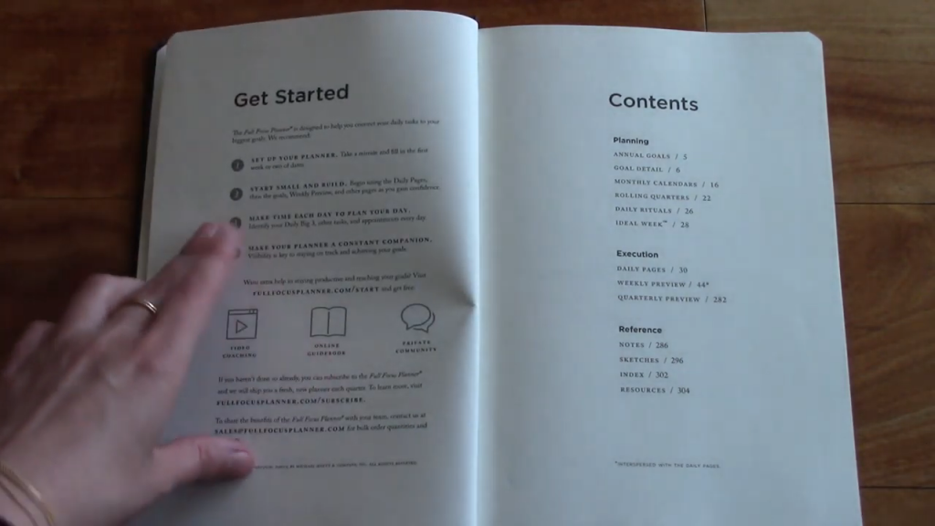 Full Focus Planner Review 3 18 screenshot