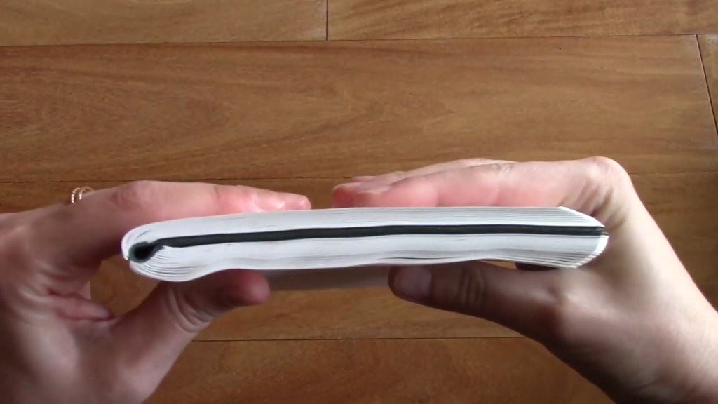 Galen Leather Tomoe River Notebook Review 2 4 screenshot