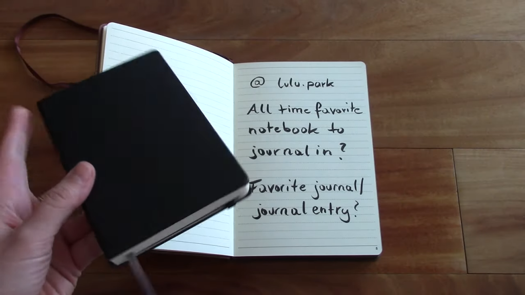 JOURNAL QA Whats your favorite journal etc. 3 8 screenshot