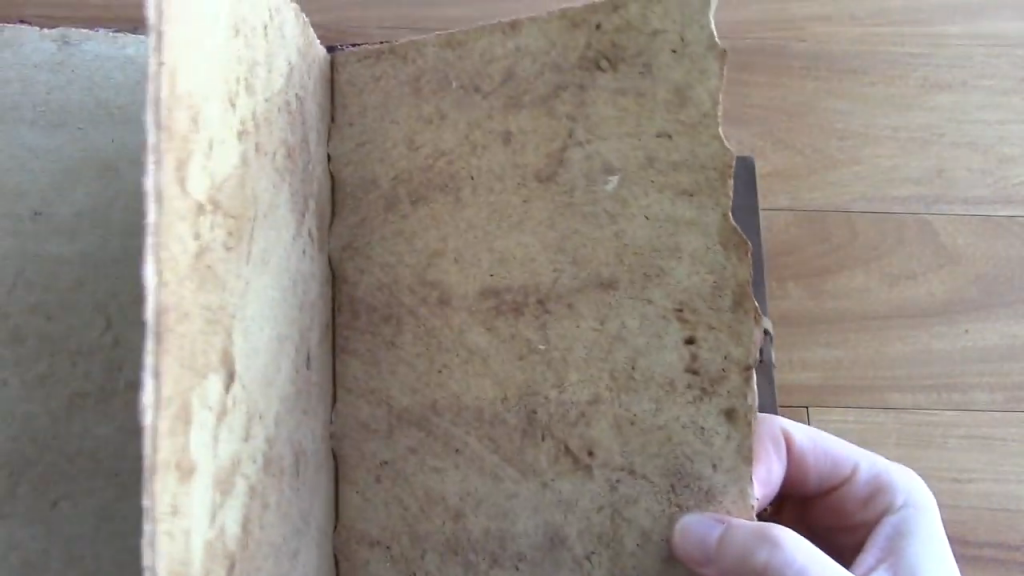 Nomad Crafts Vintage Journal Review Book of Shadows 2 42 screenshot