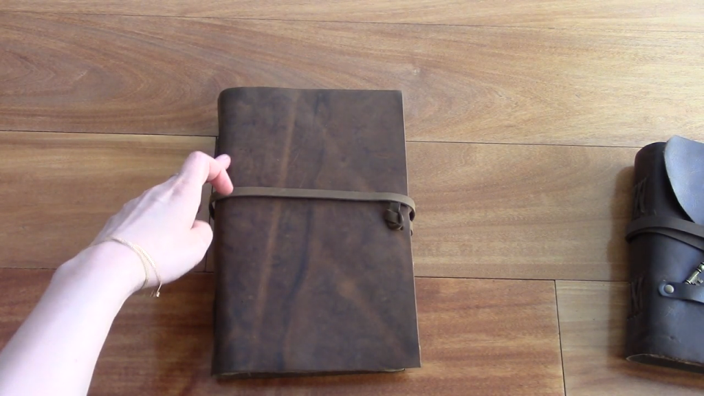 Nomad Crafts Vintage Journal Review Book of Shadows 4 24 screenshot