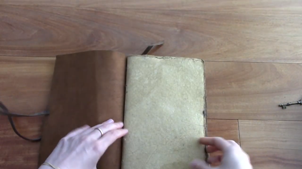 Nomad Crafts Vintage Journal Review Book of Shadows 5 20 screenshot