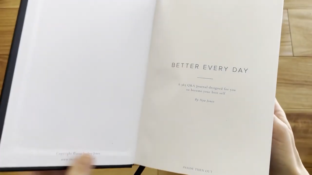 Inside Then Out Better Every Day Journal Review 2 54 screenshot
