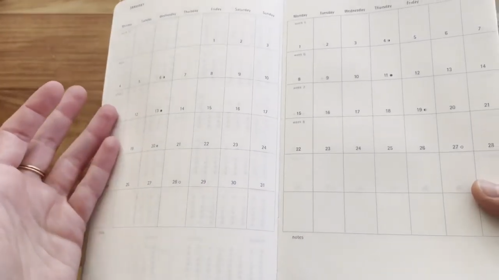 Moleskine 2021 Daily Planner Diary Soft Cover Review and Flip Through 4 7 screenshot