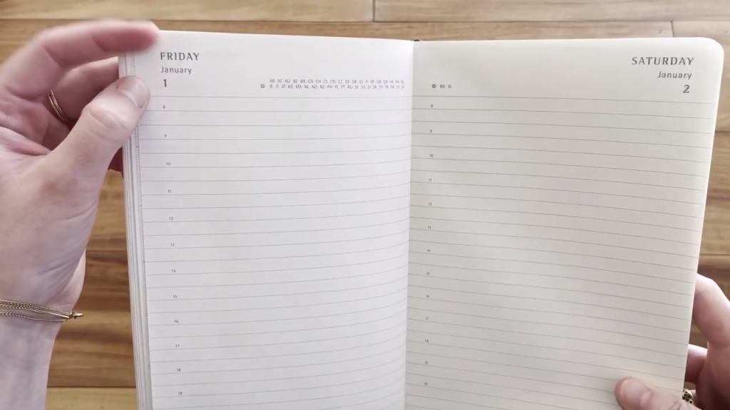 Moleskine 2021 Daily Planner Diary Soft Cover Review and Flip Through 5 51 screenshot
