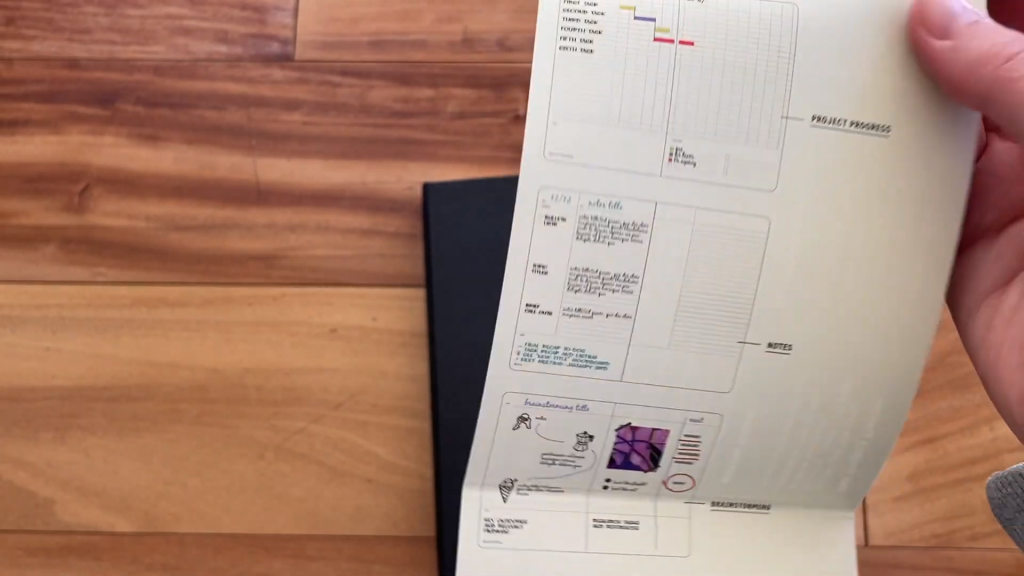 Moleskine Pro Project Planner Review and Flip Through 1 49 screenshot