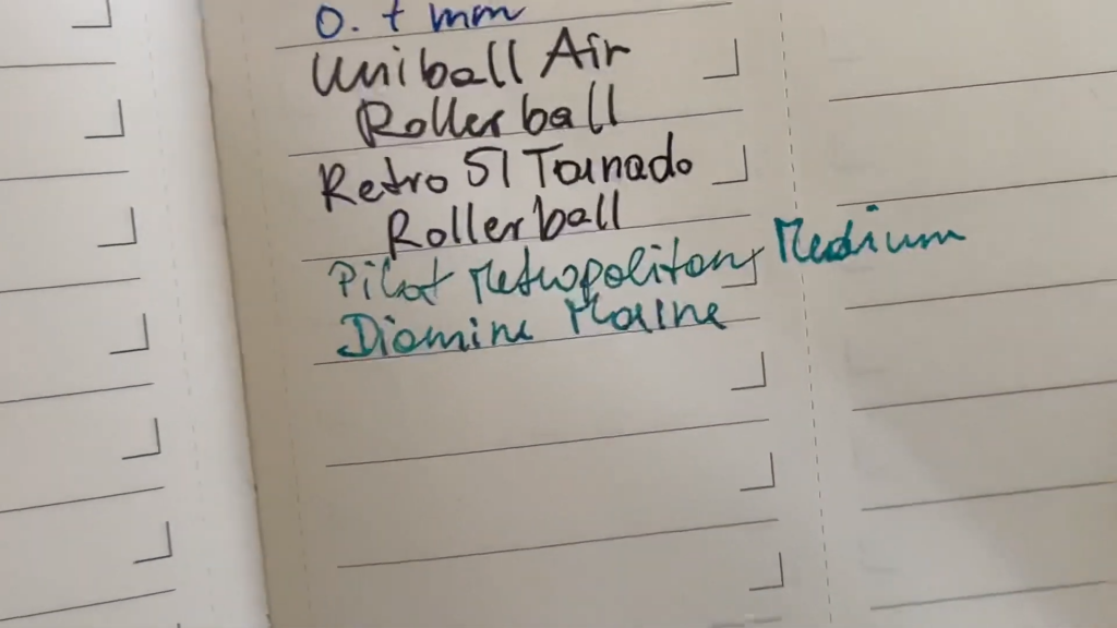 Moleskine Pro Project Planner Review and Flip Through 10 20 screenshot