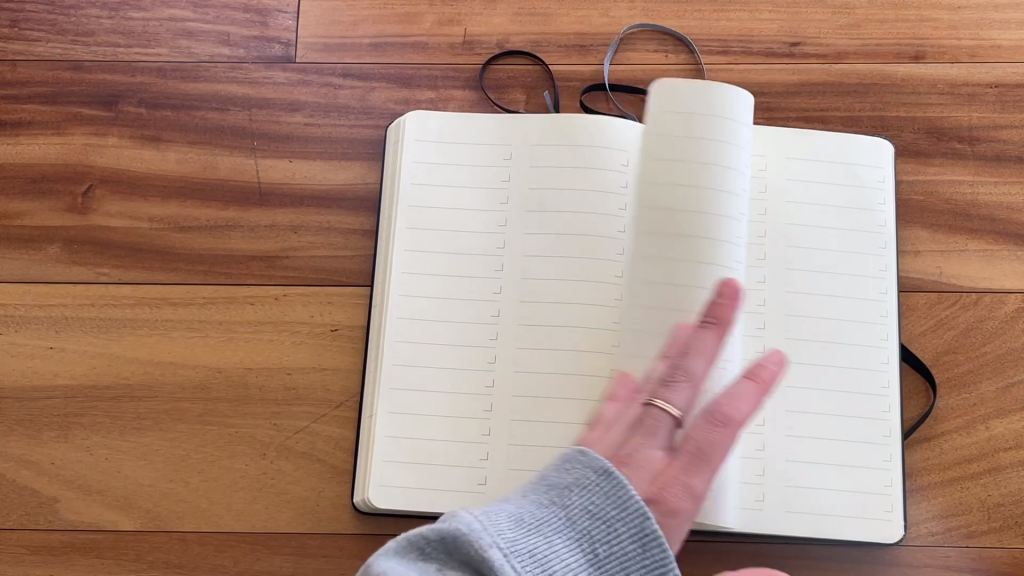 Moleskine Pro Project Planner Review and Flip Through 10 3 screenshot