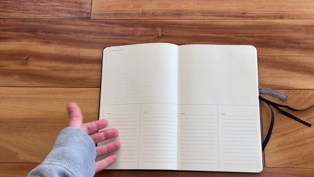 Moleskine Pro Project Planner Review and Flip Through 4 41 screenshot