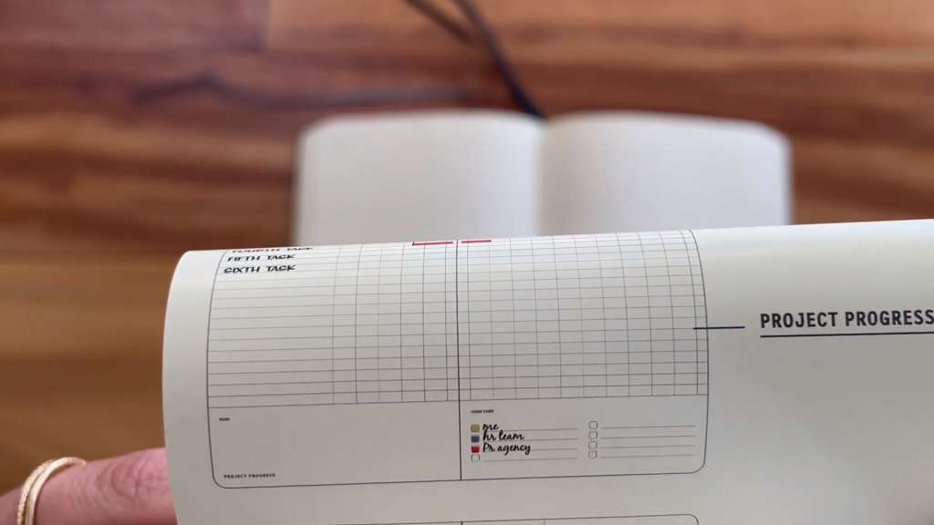 Moleskine Pro Project Planner Review and Flip Through 7 41 screenshot