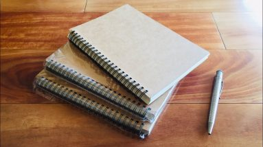 Emerging Green Notebook Review - Eco friendly Back to school option