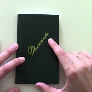 Military Memorandum Notebook