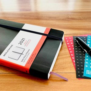 Moleskine 2021 Daily Planner/Diary Soft Cover Review and Flip Through