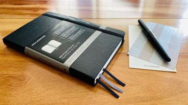 Moleskine Pro Project Planner Review and Flip Through