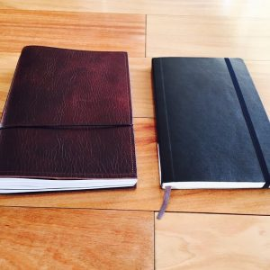 Moleskine vs X17 Notebook Comparison