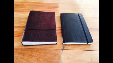 Moleskine vs X17 Notebook Comparison