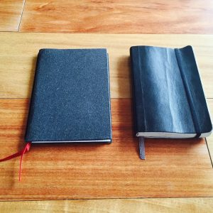 Moleskine vs X17 Notes Notebook Comparison
