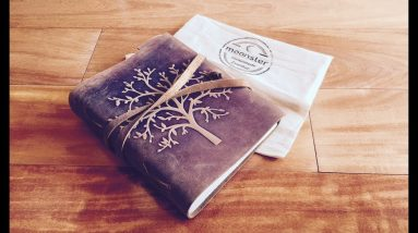 Moonster Leather Journal Review - Tree of Life