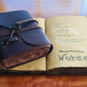 Nomad Crafts Vintage Journal Review - Book of Shadows