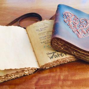 Nomad Crafts Vintage Notebook Review - Grimoire Journals