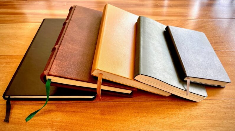 My Top 5 Notebooks / Journals