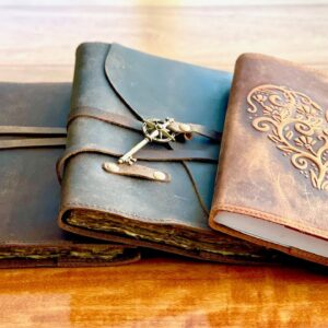 Nomad Crafts Refillable Leather Journals - Book of Shadows